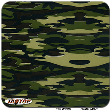 1m*10m TSA249-1 Camo Digital 3D Pattern Water Transfer Printing Film Hydrographic Films(China)