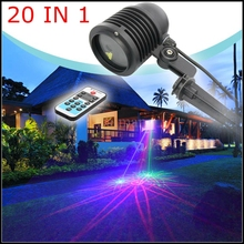 Good IR Remote Control 20 Effect RGB Laser Light Outdoor Garden lawn waterproof IP65 Laser lights Bar DJ party stage lights