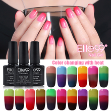 Elite99 ALL 32 Pieces Color Changing Nail Gel Polish with Temperature Cured with LED Lamp High Quality Gel Polish 10ml
