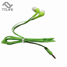 Original TTLIFE Wired Sport Earphone EAR47 HiFi Stereo Super Bass Headphone In-ear Headset for Android Phone Xiaomi auriculares(China)