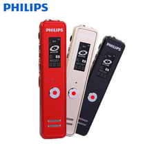 Philips 100% Original 8GB Digital Voice Recorder Pen Two high-quality Built-in Microphone Voice-activated Instant recording