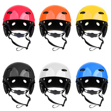Outdoor Adjustable Riding Safety Helmet Hard Hat for Kayak Canoe Surfing Surf Paddleboard Water Sports Yaht Dinghy Accessories