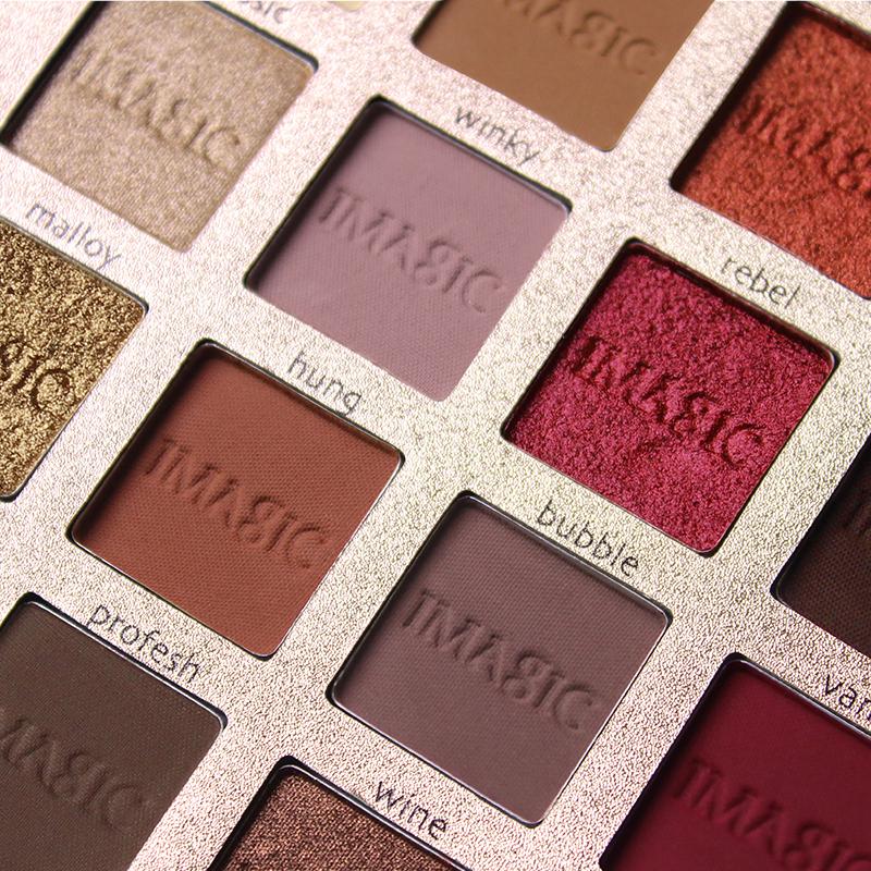 IMAGIC Nouvelle Arrivée Charme 16 Couleur Palette Make up Poudre 6