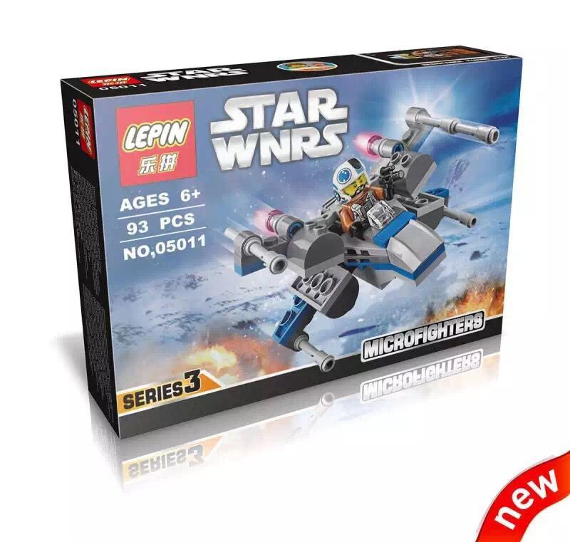 LEPIN 05011 Star Wars Storm Soldier Micro Fighters Minifigures Building Block Minifigure Toys Compatible With LEPIN S076<br><br>Aliexpress