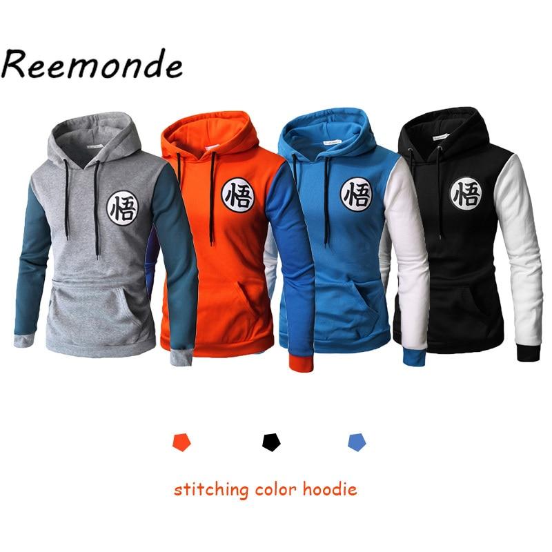 Dragon Ball Z Goku Men/'s Hoodies Pullover Sweatshirts Coat Tops Costume Jacket