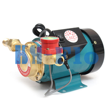 "Household 1/2"" Outlet Gas Water Heater Solar Water Pressure Booster Pump 260W Pressure Pumps Switch by Hand"
