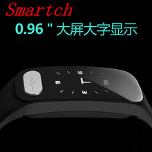 Smartch 3 Colors Sports Wristband New R11 LED Bluetooth BT4.0 Smart Bracelet Sport Waterproof Watch Heart Rate Tracker for IOS(China)