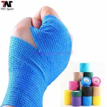 3 Pcs/lot Breathable Fitness Tape Cotton Soft Therapy Muscle Tape Sports Safety Sports Bandage Kinesiology Knee Support S337A(China)