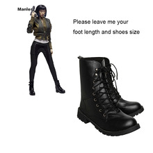 Ghost in the Shell Cosplay Shoes Kusanagi Motoko Boots Props Adult Women Halloween Carnival Shoes Cosplay Costume Accessories(China)
