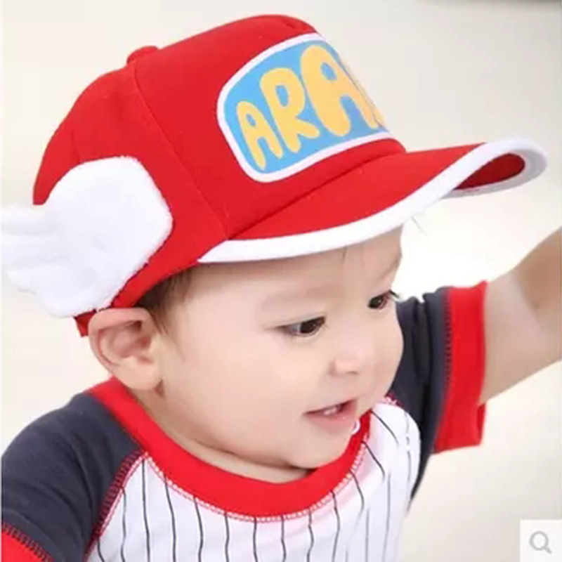Winter Hats for Kids ARALE Sports Caps Cotton Grey Wings Hat Adult Children Small Angel Cap Chapeu Feminino MZ002<br><br>Aliexpress