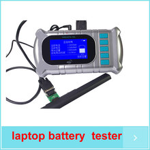 Free shipping! Digital universal laptop battery discharge tester,small currents activation,battery data checking functions(China)