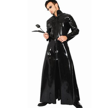 Sexy Windbreaker Woman and Man Singer Performance Clothing Cool Cosplay Costume Role Play Costume for Female and Male Set CA236