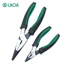 1PCS LAOA 5/7 inch  Good Quality Cr-V Durable Wholesale Price  Beading Cable Wire Side Cutte Long nose Pliers Jewelry Tool