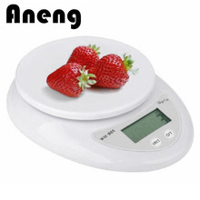 5kg x 1g Portable Digital Scale LCD Electronic Scales  Kitchen Scales Postal Food Balance Measuring Weight Libra