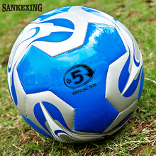 SANKEXING New Arrive 1*Football Winmax New 4mm PU Slip-Resistant Standard Size 5 Football Ball Soccer Ball Free shipping!