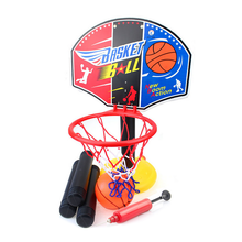 1 set  Outdoor Toys Funny Game Toy Children Basketball Stand Set Ball Toy Balls Game Mini Basketball Basket HoopBaby Ball Sport