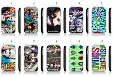Phone Cases Jared Leto Joker Margot Robbie Harley Quinn Suicide Squad DC Comics White Hard Cases For IPHONE 3 3GS Free Shipping
