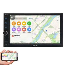 Eincar Car Multimedia Player For Universal Quad Core Android 6.0 1024*600 HD Full Touch Screen Double 2 Din Car Radio Head Unit(China)