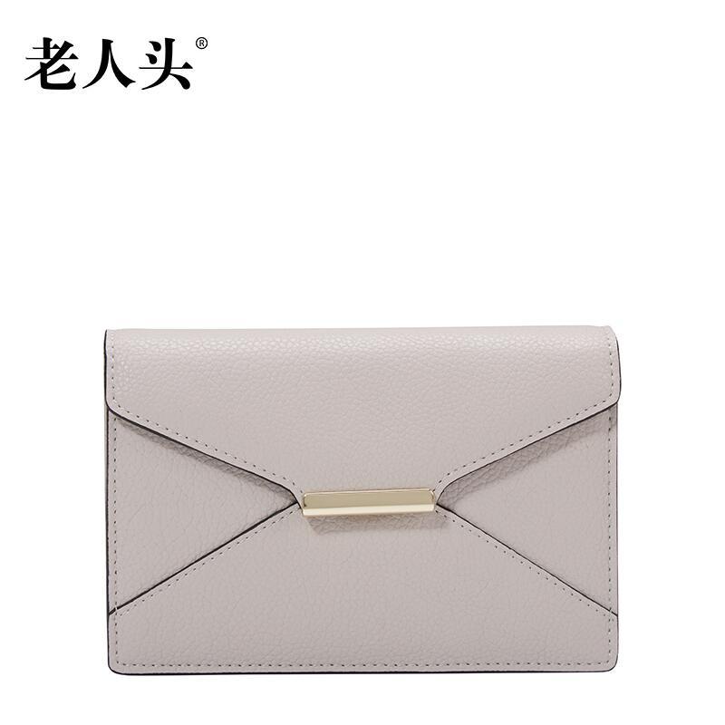 Famous brands top  Split Leather  women bag  2017 New Clutch Wallet Fashion Purse Simple envelope package<br><br>Aliexpress