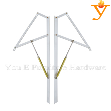 Fashion and save space furniture part hinge bedroom hardware lift a queen bed A04(China)