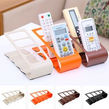 1 Pc TV/DVD Step Remote Control Storage Mobile Phone Creative Holder Stand Organiser 4 Frame Home Organization Hot Sale
