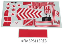 Decal Sticker for FMS Model 70mm RC Aeroplane Yak130 FMS088