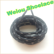 Weiou reflective shoe laces 49''/125cm checkered glowing shoelaces 3M reflective rope lace for sports shoes nmd 350 750 shoelace