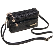 ASDS Femininas Small Shoulder Bag Crocodile Pattern Fashion Bag for Women Crossbody Bags Clutch Handbag(China)