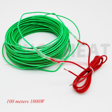 1KW 100 m/roll Vegetable, Flower, Plants Soil Hotline Greenhouse Warm Cable