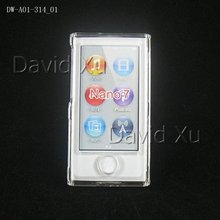 Good quality Good price! Fast shipping hard back case for iPod Nano 7 free shipping 30PCS/LOT clear case for Nano 7(China)
