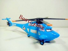 Pixar Cars King No.43  Planes Diecast Dinoco Helicopter Rotor Turbosky Toy