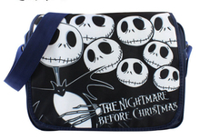 The Nightmare Before Christmas Jack Polyester Shoulder Bag Colorful Halloween Pumpkin Printing