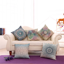 Colorful Hand-painted Pillow Cover Case Artistic Strips Printing Cotton Linen Car Sofa Cushion Covers Bay Window Cushion Cases(China)