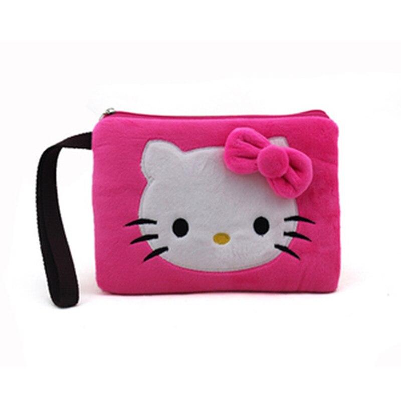 2016 HOTHigh Quality Women Phone  Bag Cute Kitty Stich  Wallet  clutch female womens handbag coin purse zipper wallet <br><br>Aliexpress