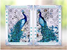2016 hot sale 5D diamond embroidery diy diamond Painting peacock crystal pictures diamond mosaic Needlework diamond picture(China)