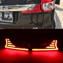 Car Flashing For Suzuki Ertiga 2016 Led rear driving lights Led taillight Brake Lights rear bumper lamp Car styling