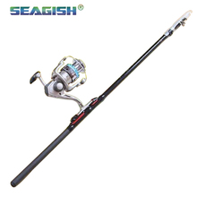 Seagish Wholesale Fiberglass Fishing Rods Angeles Fishing Gear Hand Sea Pole FL0682