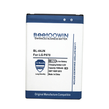 BEETOOWIN 1540mAh BL-44JN BL44JN BL 44JN For LG P970 E730 P690 P693 E510 C660 P698 C660 MS840 L5 E610 E730 E400 E40 battery(China)