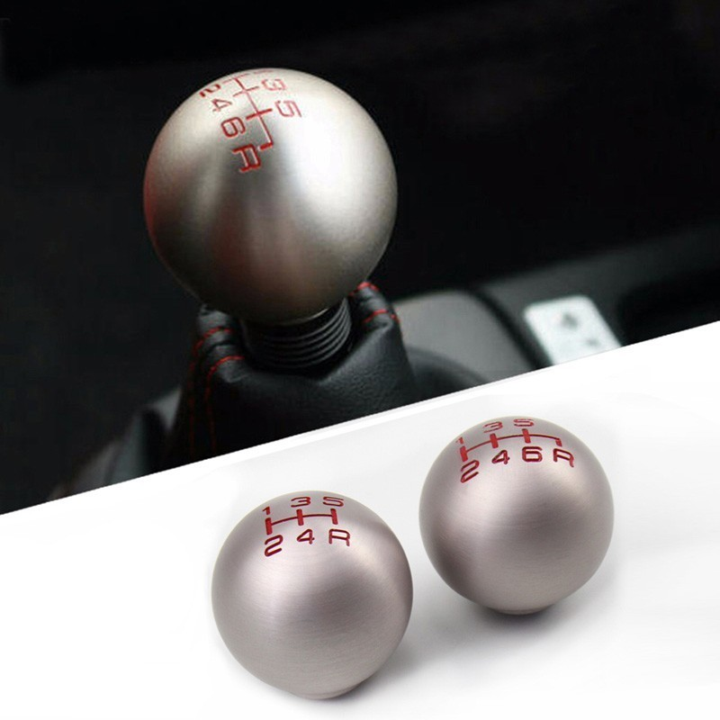 Gear-Shift-Knob EP3 FN2 JDM Type-R Honad Civic Aluminum S2000 DC5 5/6-Speed M10X1.5  title=