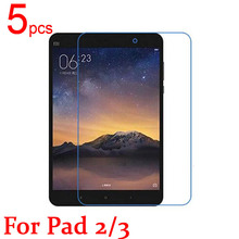 5pcs glossy/Matte/Nano anti-Explosion LCD Screen Protector Film Cover For Xiaomi pad 1 2 3 MiPAD Mi pad 2 3 Protective Film