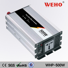 (WHP-500-241)24v dc to ac 110v Car Auto Power Inverter 500w pure sine wave solar inverter