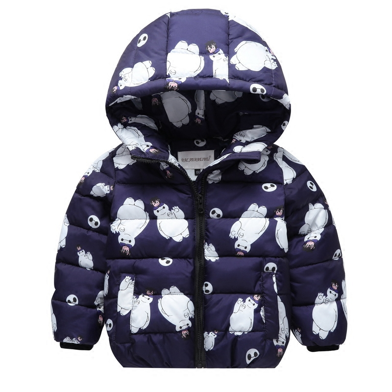 2017 Childrens down jacket boys and girls, small childrens clothing baby cartoon short paragraph autumn and winter coatОдежда и ак�е��уары<br><br><br>Aliexpress