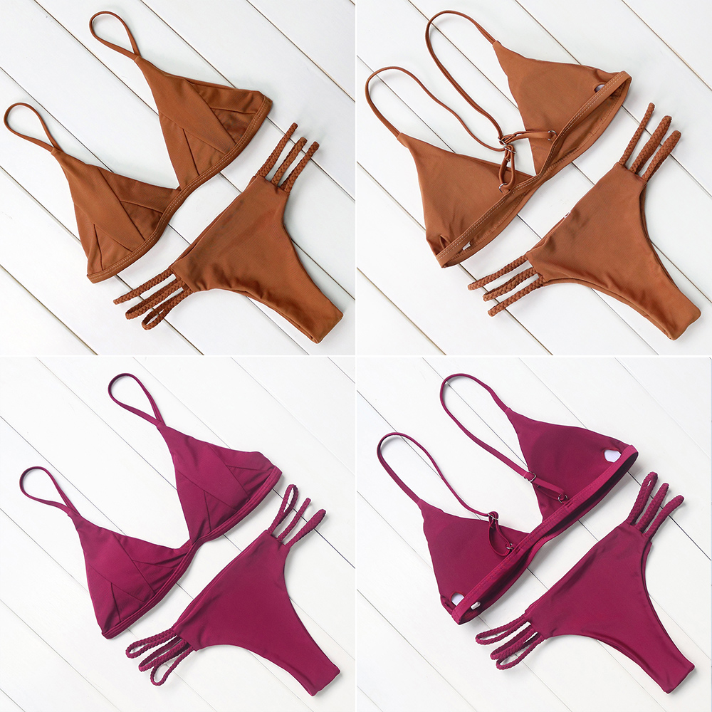 Hot Sexy Brazilian Bikini 19 Swimwear Women Swimsuit Bathing Suit Biquini Bikini Set Bandage Swim Suit Maillot De Bain Femme 18