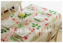 Free shipping-Garden pure color Pure cotton canvas fabric cloth(140*180cm)only 1pcs table cloth