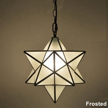 Loft Vintage Pendant Lamp Light, Shooting Star Tiffany Glass Lighting  Ceiling for Home Aisle Corridor Porch Shop