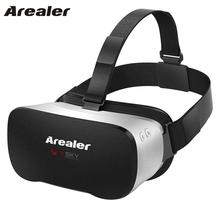 "Arealer VR SKY All-in-one Android Virtual Reality Glasses VR Headset 1080P 5.5"" TFT 100 FOV 70Hz FPS WiFi Immersive VR Box BT4.0"