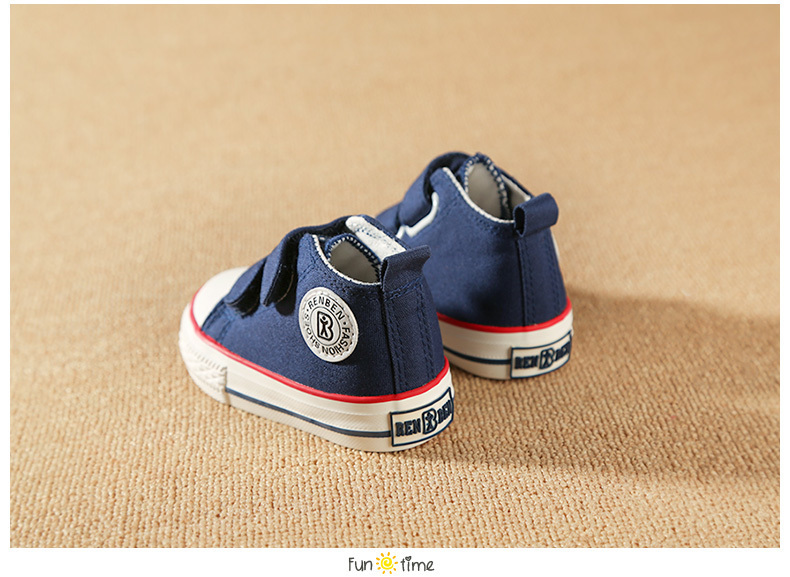 Baby shoes Girl Children Canvas shoes Boys 17 Spring Autumn Fashion High Cotton-made Baby girl little kids shoes 20