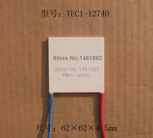 1 PCS TEC1-12740 40A 12V  62*62mm high-power Thermoelectric Cooler Peltier electronic semiconductor refrigeration