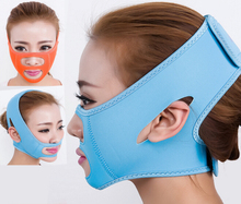 Thin Face Mask Slimming Bandage Double Chin Face Belt health care weight loss products massage face cream belt(China)