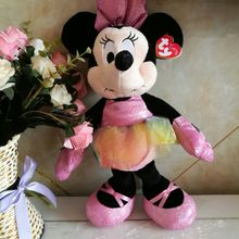 multicolor MINNIE mouse 40CM ty beanie buddies collection plush Toys Stuffed Animals Gift Children toy desk decorations(China)